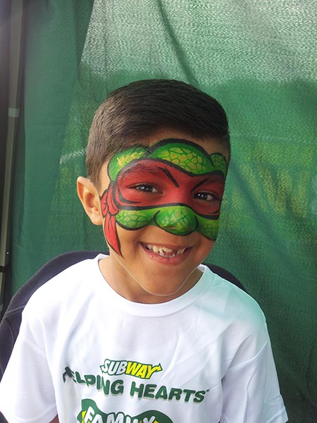 Face painting promotions north england